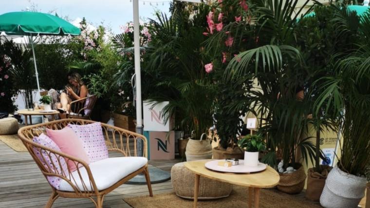 Nespresso Beach x Chiara Ferragni For Cannes Film Festival