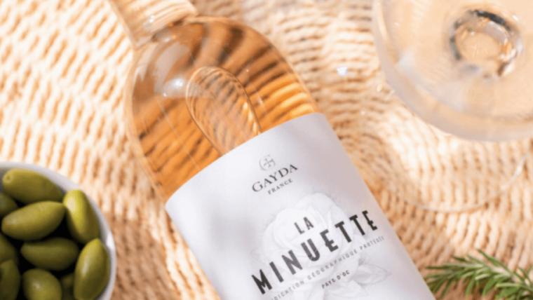 La Minuette Rosé By Domaine Gayda