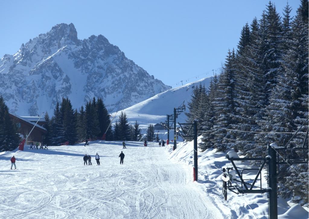 Ski season Courchevel