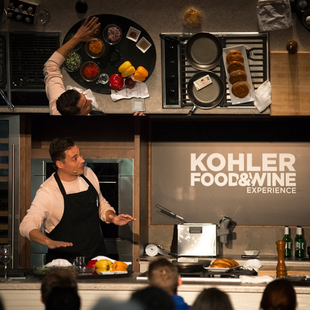 GOLF, WATER TREATMENTS, WINE & DINE AT DESTINATION KOHLER